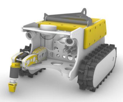Rossia Crawler System Manipulator