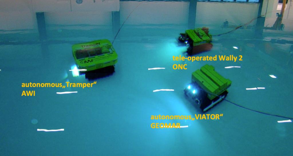 ISeaMC Basic Crawler System
