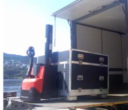 iSeaMC crawler delivery